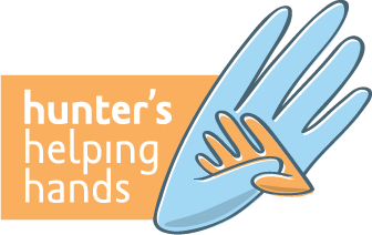 Hunter's Helping Hands Logo